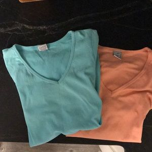 Two x-small old Navy maternity tee shirts